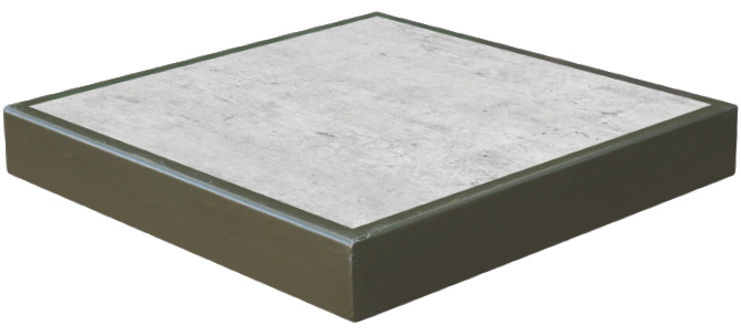 Base Concrete Metal (260lbs)